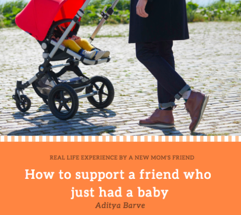 How To Support A Friend Who Just Had A Baby