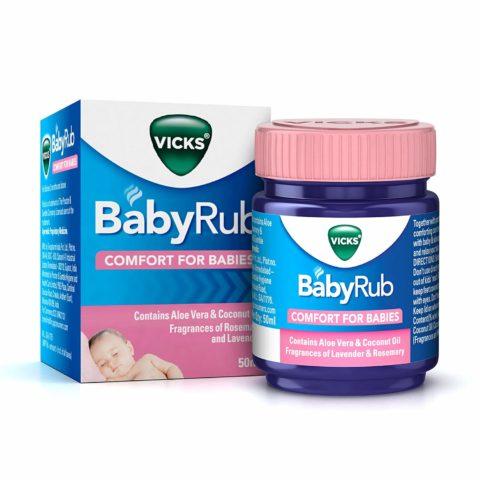 Vicks Baby Rub – Review By Mumma Kopila Singh