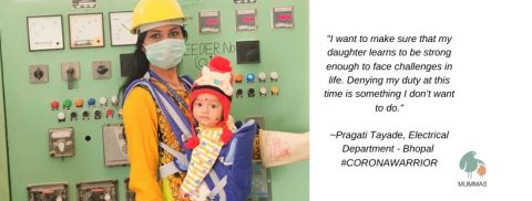 Pragati Tayade's dedication for her job is an inspiration for all working moms; #CoronaWarrior