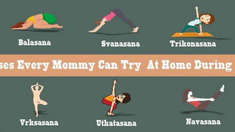 9 Yoga Poses Every Mommy Can Try At Home During Lockdown
