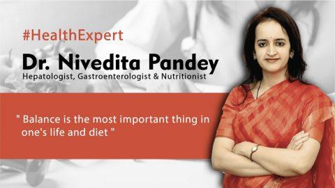 Interview with Gastroenterologist & Nutritionist – Dr. Nivedita Pandey #HealthTalk